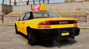 Dodge Intrepid 1993 Taxi for GTA 4 miniature 3