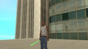 Световой меч из STAR WARS for GTA San Andreas miniature 2