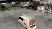 Toyota Hiace Vanning for GTA San Andreas miniature 3