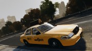 Ford Crown Victoria NYC Taxi 2012 для GTA 4 миниатюра 6
