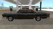 Dodge Polara 1961 Rust my version for GTA San Andreas miniature 5