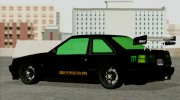 GTA 5 Karin Futo - Monster Energy for GTA San Andreas miniature 4