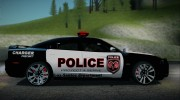 2012 Dodge Charger SRT8 Police interceptor LSPD для GTA San Andreas миниатюра 11