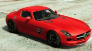 Mercedes-Benz SLS AMG Coupe v1.3 for GTA 5 miniature 4