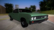 Chevrolet Chevelle SS 196 for GTA Vice City miniature 2