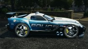 Dodge Viper SRT-10 ACR ELITE POLICE [ELS] for GTA 4 miniature 2