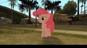 Pinkie Pie (My Little Pony) для GTA San Andreas миниатюра 2