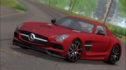 Mercedes-Benz SLS AMG Black Series 2013 для GTA San Andreas миниатюра 19