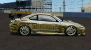 Nissan Silvia S15 D1GP TOP SECRET for GTA 4 miniature 2