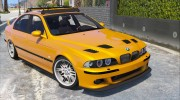 BMW M5 E39 1.1 for GTA 5 miniature 3