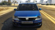 2008 Dacia Logan v2.0 FINAL for GTA 5 miniature 2