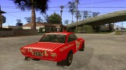 Lancia Fulvia Rally Marlboro for GTA San Andreas miniature 4