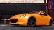 Nissan 370z v2.0 for GTA 5 miniature 2