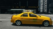 Cadillac CTS-V Taxi for GTA 4 miniature 5
