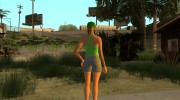 Female GTA Online Grove Style for GTA San Andreas miniature 9