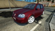 2008 Volkswagen Golf GTI for GTA San Andreas miniature 1