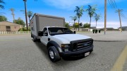 2008 Ford F-550 Box Truck for GTA San Andreas miniature 7