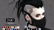 IKAS - Hair style for Sims 4 miniature 1