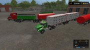Custom Road Train Pack RUS v2.1 for Farming Simulator 2017 miniature 8