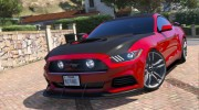 Ford Mustang GT 2015 v1.1 for GTA 5 miniature 6