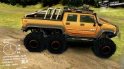 Hummer H2 SUT 6x6 for Spintires DEMO 2013 miniature 2