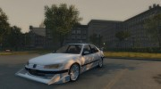 Peugeot 406 Taxi for Mafia II miniature 1