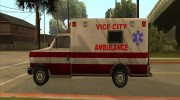 Ambulance from Vice City for GTA San Andreas miniature 3
