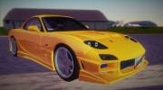 Mazda RX-7 FD3S Tuning for GTA Vice City miniature 2
