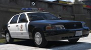 1999 Ford Crown Victoria P71 - Los Angeles Police 3.0 для GTA 5 миниатюра 1