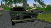 Shelby GT500KR 1968 for GTA Vice City miniature 3