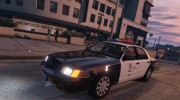 1999 Ford Crown Victoria LAPD for GTA 5 miniature 1