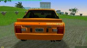 Fiat 131 Abarth Rallye 1976 for GTA Vice City miniature 2
