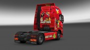 "Скин ""Angry Birds"" для Volvo FH 2012 for Euro Truck Simulator 2 miniature 2"