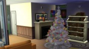 4 Recoloured Holiday Christmas Tree Set for Sims 4 miniature 4