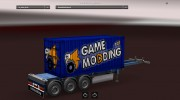 Mod GameModding trailer by Vexillum v.2.0 для Euro Truck Simulator 2 миниатюра 2