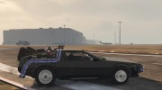 DeLorean DMC-12 for GTA 5 miniature 7