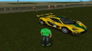 McLaren P1 GTR 2015 for GTA Vice City miniature 7