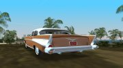 Chevrolet Bel Air 1957 Sedan for GTA Vice City miniature 2