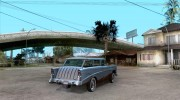 Chevrolet Bel Air Nomad 1956 for GTA San Andreas miniature 4