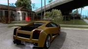 Lamborghini Gallardo Superleggera for GTA San Andreas miniature 4
