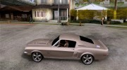 Shelby GT500KR for GTA San Andreas miniature 2
