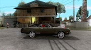 Dodge Charger R/T 1969 для GTA San Andreas миниатюра 5