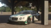 2014 Bentley Continental GT3 for GTA 4 miniature 8