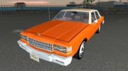 Chevrolet Caprice 1986 for GTA Vice City miniature 1