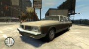 1985 Oldsmobile Custom Cruiser for GTA 4 miniature 1