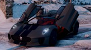 Jaguar C-X75  BETA for GTA 5 miniature 10