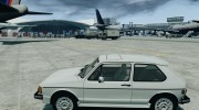 Volkswagen Rabbit 1986 для GTA 4 миниатюра 2
