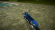 Yamaha YZ450F 2003 v2.1 for GTA Vice City miniature 5