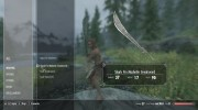 Shark Fin Machete for TES V: Skyrim miniature 3