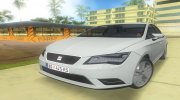 2013 Seat Leon Fr for GTA Vice City miniature 1
